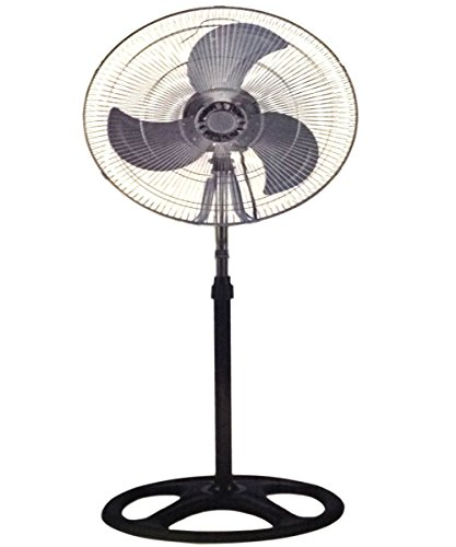 """Unique Imports Industrial Standing Fan 18"""" Shop Commercial House High Velocity Oscillating Blower- 2 Year Warranty"""