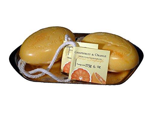 2x Kordelseife mit Sheabutter Grapefruit & Orange 2x 175g Doppelpack