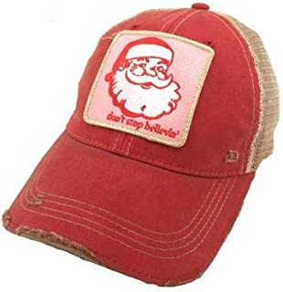 Judith March Don't Stop Believin' Baseball Hat - Red