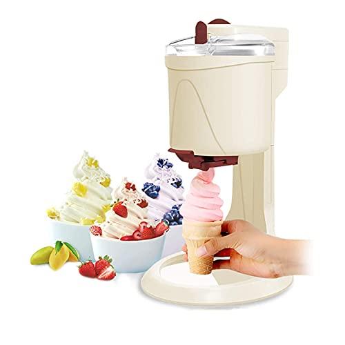 MNCYGJ Eismaschine Mit KompressorSofteismaschine Für ZuhauseIce Cream Machine1L Aluminiumfolie in Lebensmittelqualität Slush EIS MaschineFrozen Yogurt MaschineEismaschine