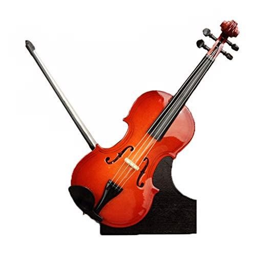 CWT-MUSIC BOX Spieluhr Gitarre Hölzerne Spieluhr Violine Spieluhr Kreatives Geschenk (Size : Violin B)