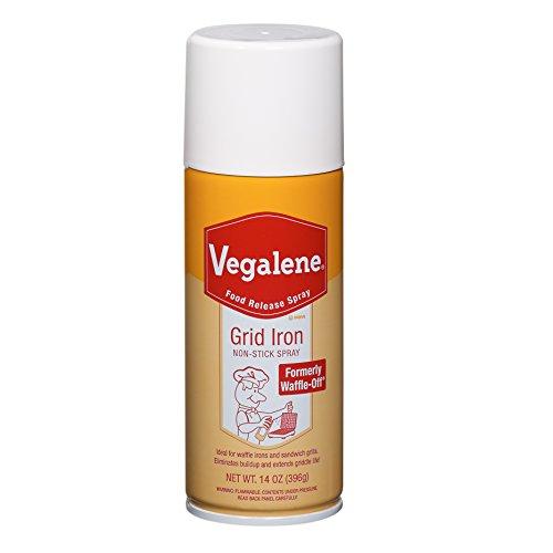 Vegalene Grid Iron Release and Pan Aerosol Spray 14 oz. (6 pack)