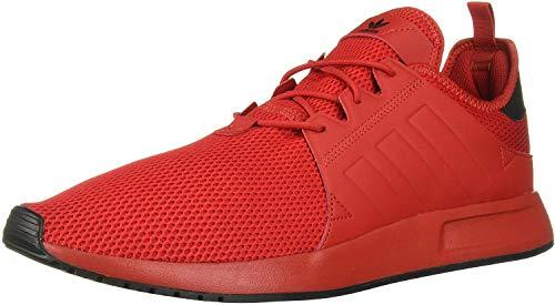 adidas Originals Men's X_PLR Running Shoe, Scarlet/Scarlet/Black, 5 M US