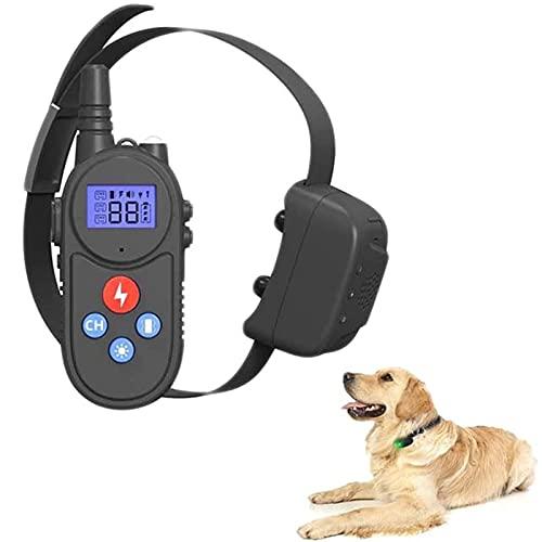 YIZHIGOU Erziehungshalsband Hund mit Echtzeit-Gegensprechanlage, Anti Bell Halsband mit 1000M Fernbedienung,Kann tauchen Anti-Bell-Halsbänder