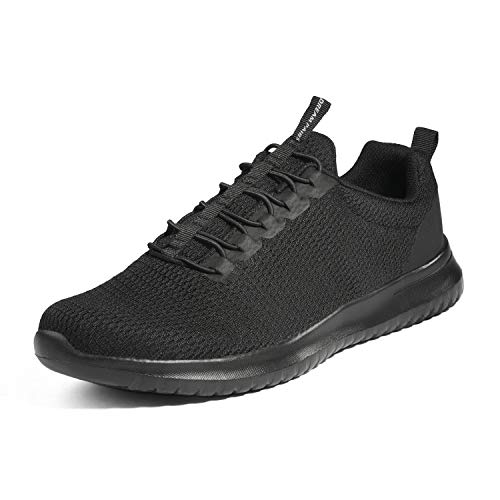 DREAM PAIRS Bruno Marc Men's Slip On Walking Shoes Sneakers All Black Size 9.5 M US