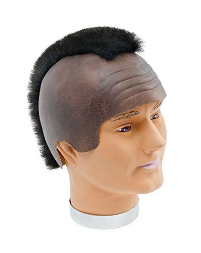 NEW MR T MOHAWK WIG A TEAM BA BARACUS FANCY DRESS (peluca)