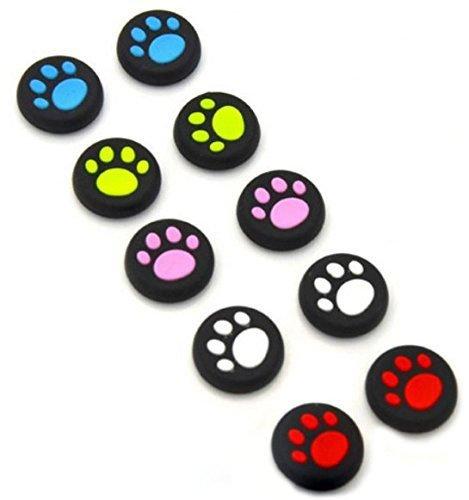 Carcasa de silicona analógica para mandos de juegos de PS4, PS3, Xbox One, Xbox 360, PS2, 5 colores