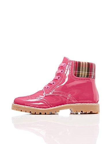 RED WAGON Botas De Charol para Niña, Rosa (Pink), 25.5 EU