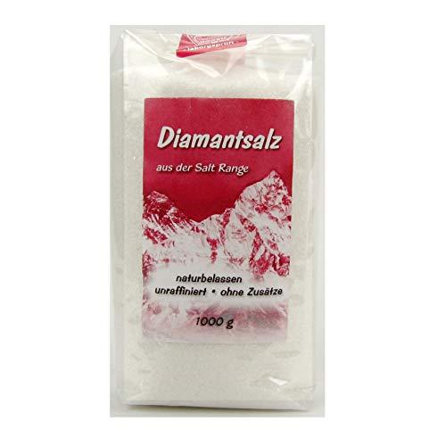 Natur Hurtig Diamantsalz Kristallsalz fein naturbelassen 1000 g 1 kg