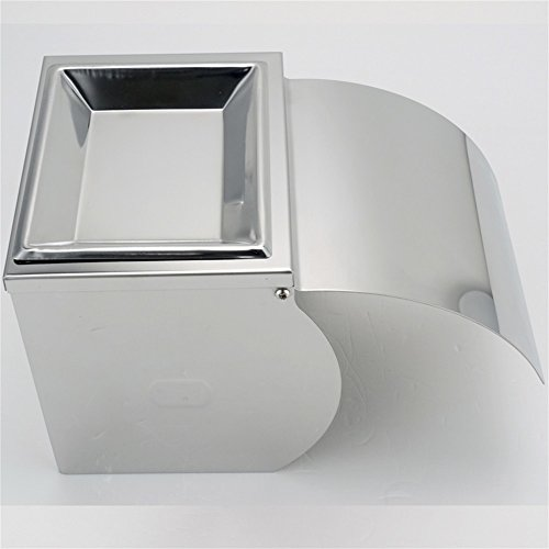 KES Bathroom Toilet Paper Holder/Tissue Holder Wall Mount SUS304 Stainless Steel, Polished Finish, A2071