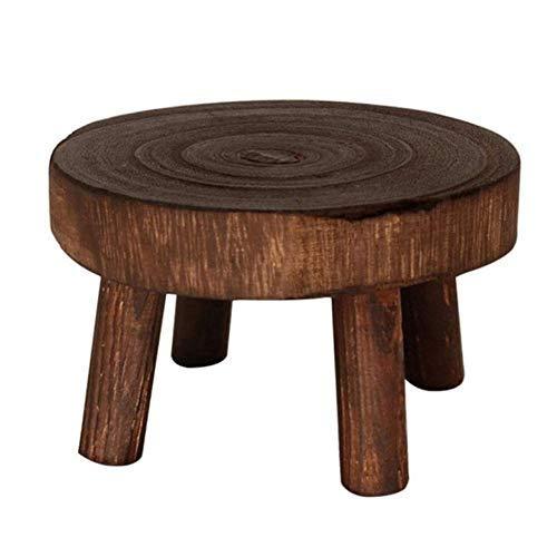 Soporte de planta, Soporte de maceta, Soporte de madera para plantas, para uso en interiores y exteriores