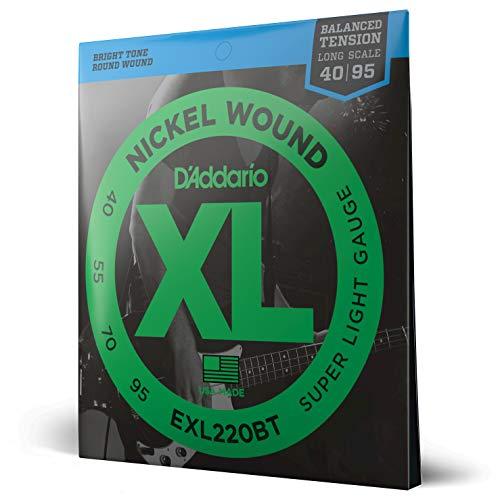 D\'Addario EXL220BT E-Bass Saiten Satz Bass 040 - 095 Balanced Tension