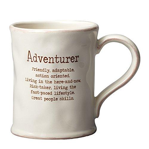 Enesco 4054300 VoHo Adventurer Mug, 4', C