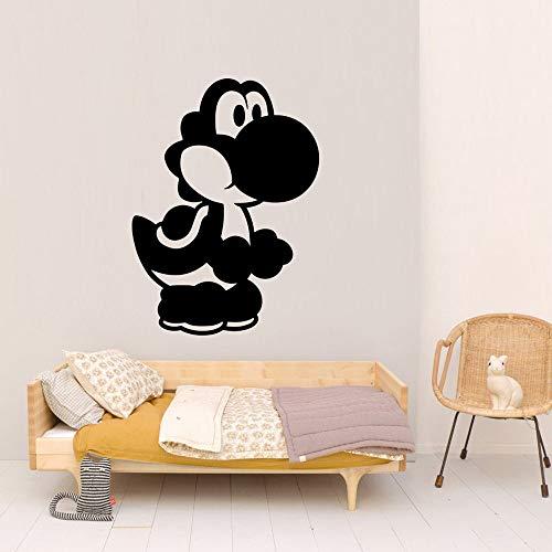 N\A Pegatinas de Vinilo ecológicas de Dibujos Animados para decoración de habitación de niños calcomanías murales de Vinilo