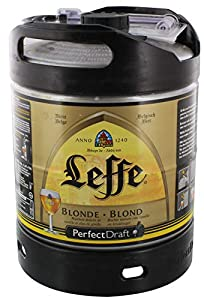 Leffe cerveza de Bélgica Perfect Draft 6 litros barril 6,6% vol.