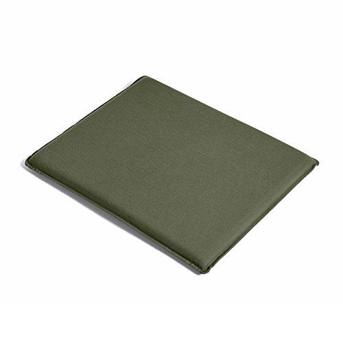 HAY Palissade Sitzkissen 52,5x48cm, olivgrün wasserabweisend für Garten Loungesessel