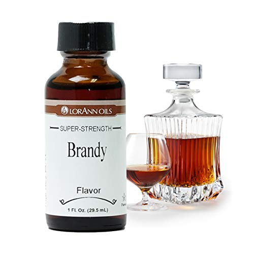 LorAnn Brandy Super Strength Flavor, 1 ounce bottle