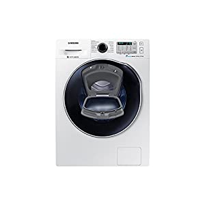 Samsung WD5500 Freestanding Front-load A White – Washer Dryers (Front-load, Freestanding, White, Left, Buttons, Rotary, LED)