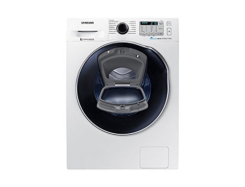 Samsung WD8XK5A03OW/EG lavadora Carga frontal Independiente Blanco A - Lavadora-secadora (Carga frontal, Independiente, Blanco, Izquierda, Botones, Giratorio, LED)