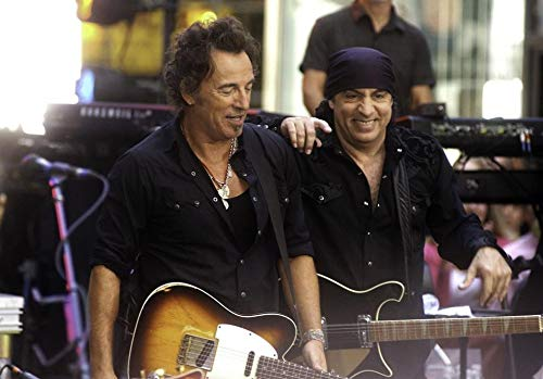 Bruce Springsteen and Steve Van Zandt performing at Rockefeller Center Photo Print (30 x 24)