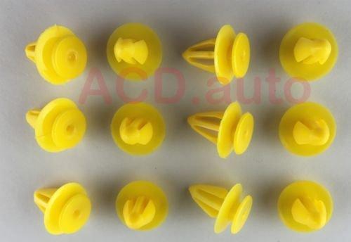 ACD. Clip Verkleidungs-Clips, 30 x Nylon, für Innentür und Armaturenbrett, für Seat