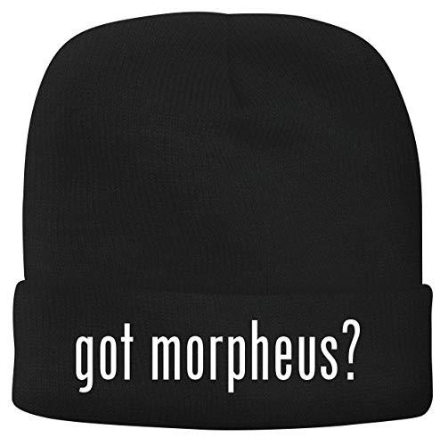 BH Cool Designs got Morpheus? - Men's Soft & Comfortable Beanie Hat Cap, Black, One Size