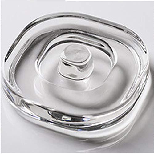 TAMUME 600ml Blanco Tetera de Vidrio Duradero con Tetera Protector Y Filtro de Acero Inoxidable Adecuado para Elaboración del Té (750ml Blanco)