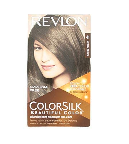 Teinture sans ammoniaque Colorsilk Revlon Marron
