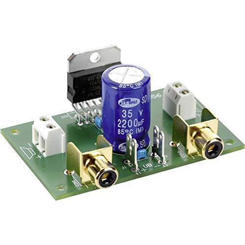 Conrad Components Stereo-Verstärker Baustein 9 V/DC, 12 V/DC, 18 V/DC 35 W 2 Ω