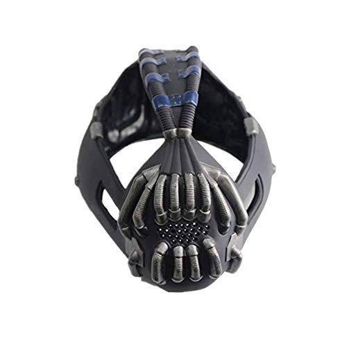 Xcoser Bane Máscara Cosplay Mascara para Hombres Halloween SW Disfraz para Adultos de Látex Accesorio Colección