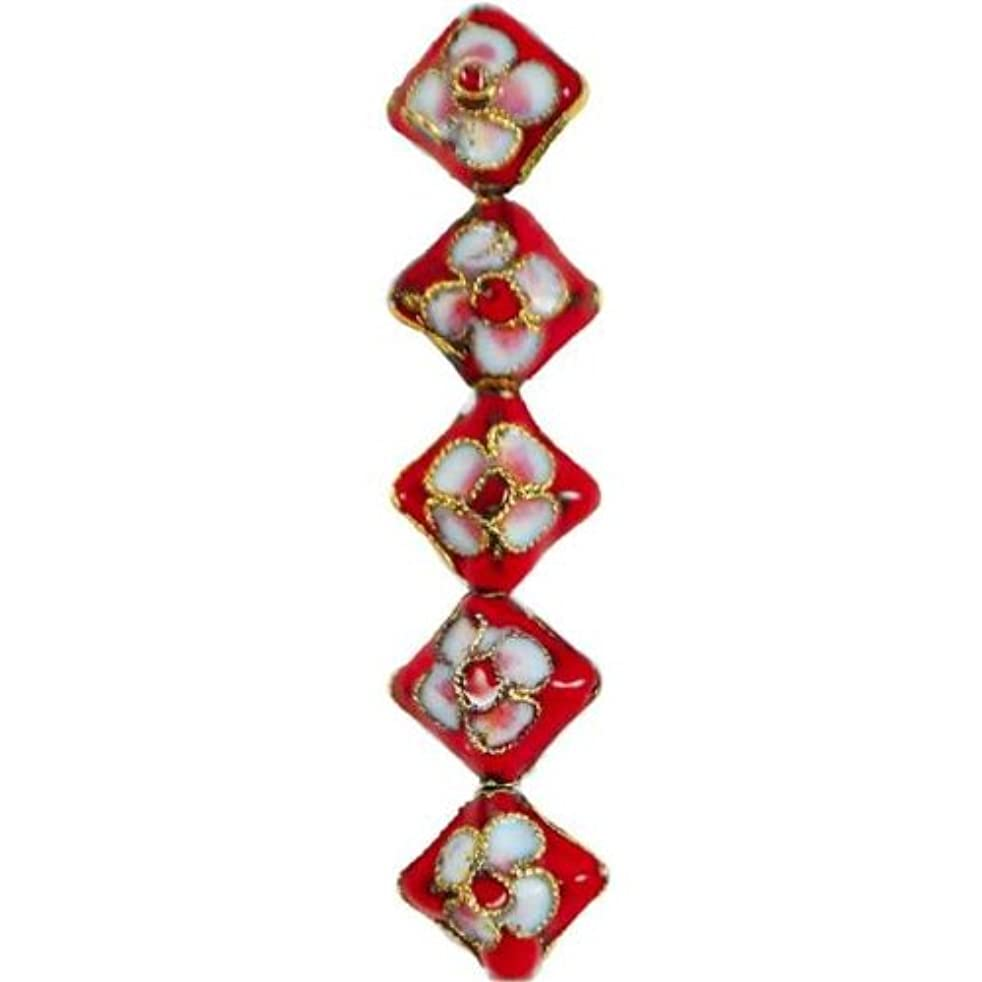 Expo BD51814 Cloisonne Beads, 14-Pack