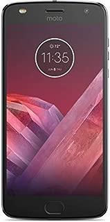 Motorola Moto Z2 Play XT1710 (64GB) Dual SIM GSM Factory Unlocked US & Global 4G LTE Bands - Dark Gray