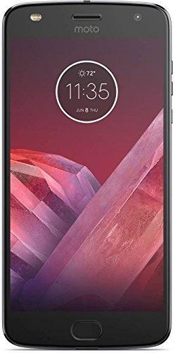Motorola Moto Z2 Play XT1710 (64GB) Dual SIM GSM Factory Unlocked US & Global 4G LTE Bands - Dark...