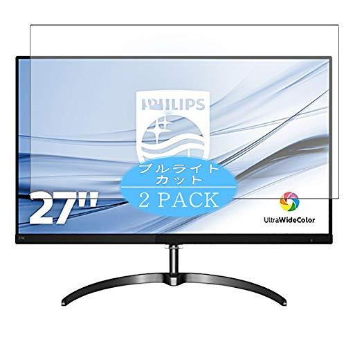 VacFun 2 Piezas Filtro Luz Azul Protector de Pantalla Compatible con Philips 276E8 / 276E8F / 276E8FJAB / 00 27' Display...