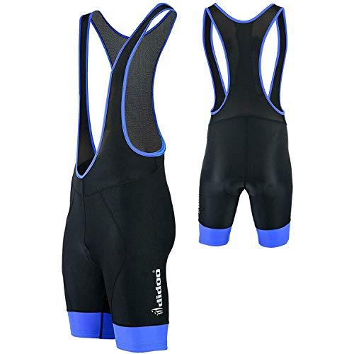 Didoo Mens Quality Cycling Bib Shorts Coolmax® Padding Cycle Tights...