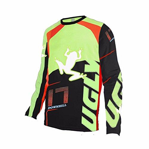 Uglyfrog ESHSJF03 2018-2019 Cycling MTB Jersey Mountain Bike Downhill Shirt Sports Spring Long Sleeve Bicicleta Motocross De Descenso Bicicleta De Montaña Maillots Deportes y Aire Libre