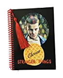 Stranger Things Eleven and Waffle black notebook 5 x 7