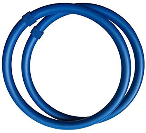 Zhensu Anillo de brazo azul, mini hula hoop suit bolsa portátil + instrucciones de uso, para ejercicios de quema de grasa, masajeador de equilibrio y eliminación de grasa, brazos delgados