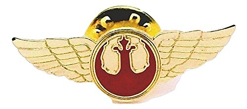 Patch Nation Star Wars Rebel Alliance Pilot Flügel Cosplay Metal Pin Badge