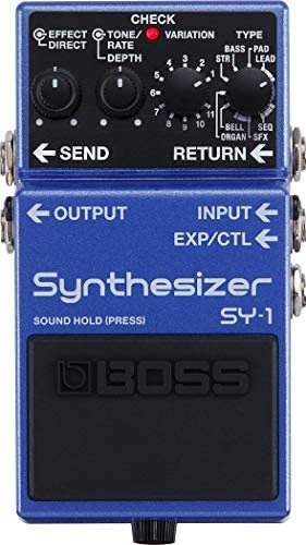 BOSS SY 1 Guitar Synthesizer Pedal product image