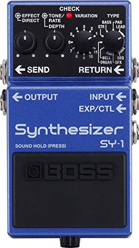 BOSS Bass Synthesizer Guitar Pedal (SY-1)