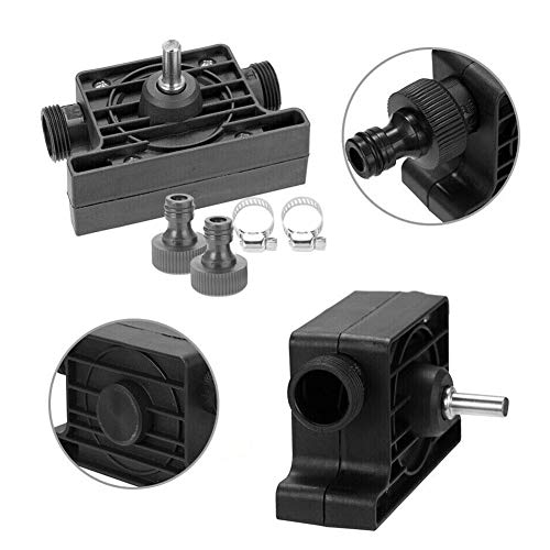 Machgrin Hand Electric Drill Portable Oil & Fluids Diesel, Kerosene, Water Transfer Drill Pump Kit