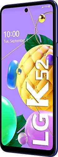 LG K52 Smartphone 64 GB (16,76 cm (6,6 Zoll) LCD-Display, Quad-Hauptkamera, 3D-Sound, MIL-STD-810G, Android 10), Blau