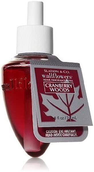 Slatkin Co Cranberry Woods Wallflowers Refill Cranberry Woods Wallflower Bulb Bath Body Works
