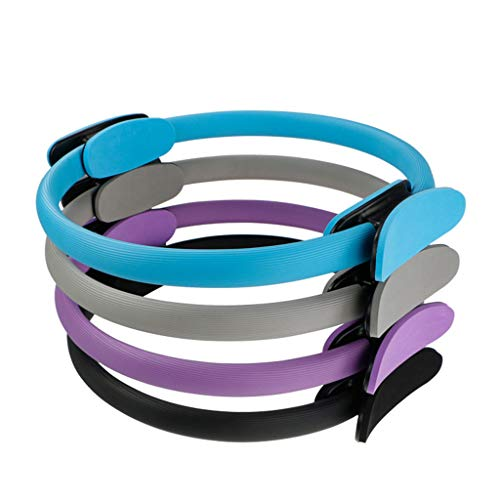 Calidad Yoga Pilates Ring Magic Wrap Adelgazamiento Body Building Training Heavy Duty PP + NBR Material Yoga Circle 6 Colores