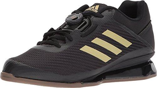 adidas Men's Leistung.16 II Cross Trainer, core Black/Matte Gold/core Black, 14.5 M US