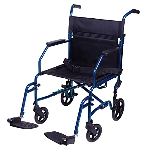 Carex Transport Wheelchair With 19 inch...