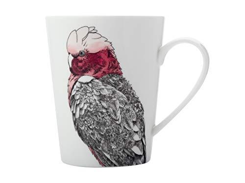 Maxwell & Williams Marini Ferlazzo Birds Tazza in porcellana con motivo Galah, in confezione regalo