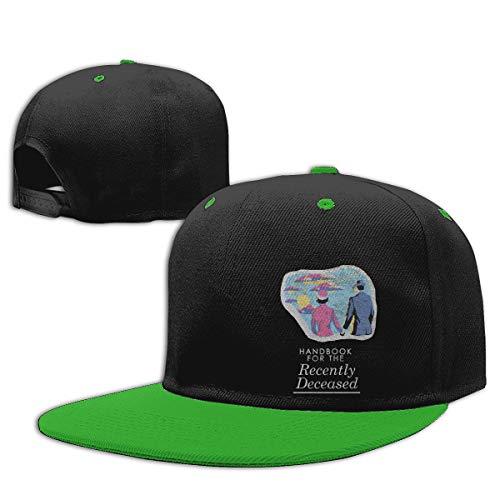 Beetlejuice Unisex Contrast Hip Hop Baseball Cap Green
