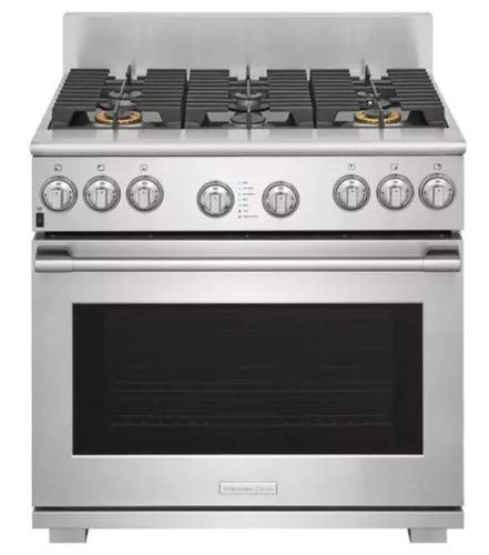 Electrolux Dual Fuel 46 Cu Ft Kitchen Range Model E48df76eps